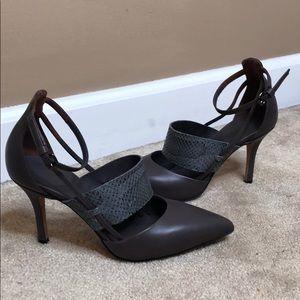 Vince heels - with snakeskin